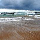 Water Movement - Bateau Bay Beach by Jacob Jackson