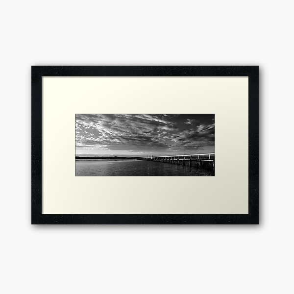 A Moment in Time - Long Jetty Framed Art Print