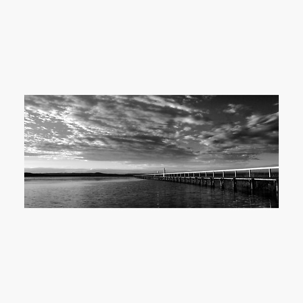 A Moment in Time - Long Jetty Photographic Print
