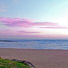 Happy Hour - Toowoon Bay Beach by Jacob Jackson
