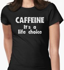 Caffeine II Women's Fitted T-Shirt