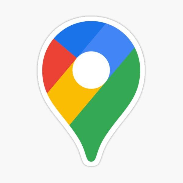 Icône Google Maps Sticker