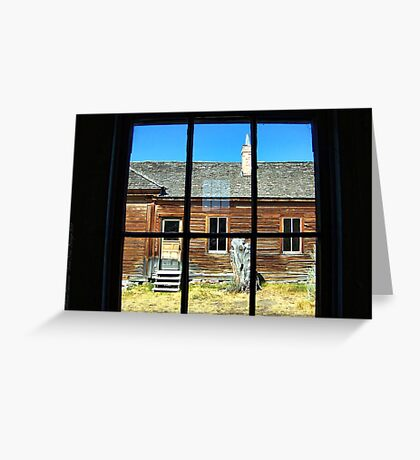 Window Into the Past Greeting Card