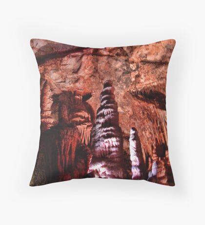 Lewis & Clark Caverns 4 (Montana, USA) Throw Pillow