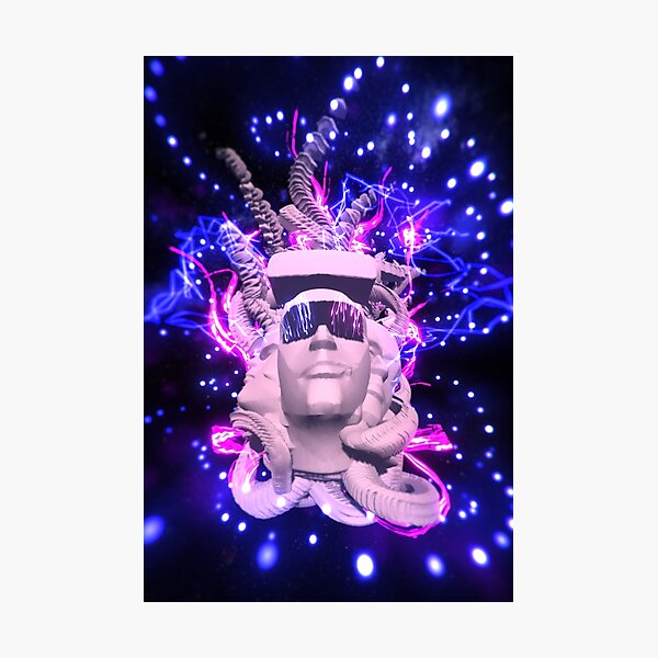 Cyber Idol 2020 by Spaced Painter Photographic Print