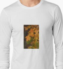 Fall Leaves iPhone case Long Sleeve T-Shirt