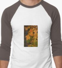Fall Leaves iPhone case Men's Baseball ¾ T-Shirt