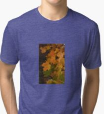 Fall Leaves iPhone case Tri-blend T-Shirt