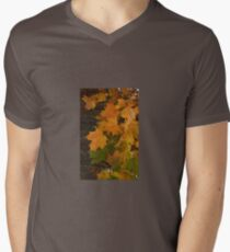 Fall Leaves iPhone case Mens V-Neck T-Shirt