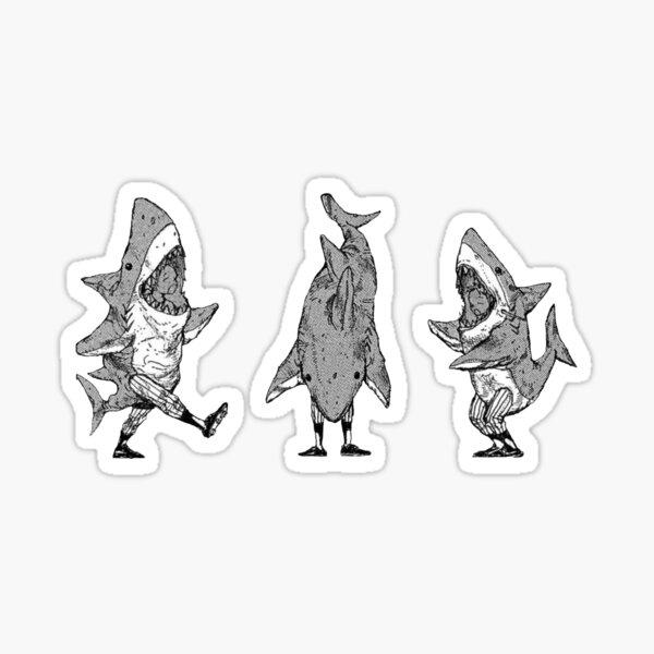 Ebisu in da shark Sticker