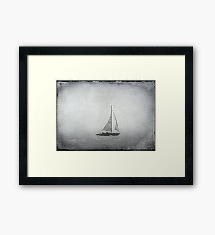 Foggy hazy day! © Framed Print