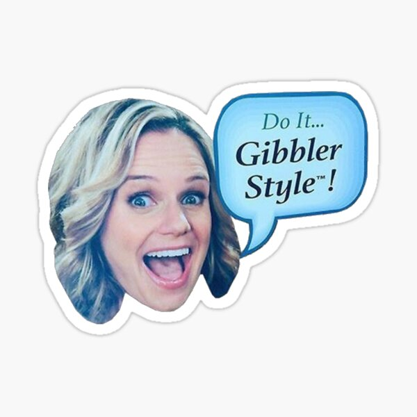Gibbler Style Sticker