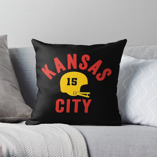 KC Showtime Kansas City 15 Red Showtime and KC Yellow KC Champions 2020  Throw Pillow