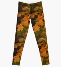 Fall Leaves iPhone case Leggings