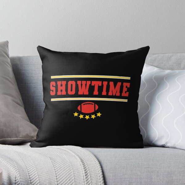 KC 15 Showtime Kansas City 15 Red Showtime and KC Yellow KC Champions 2020  Throw Pillow