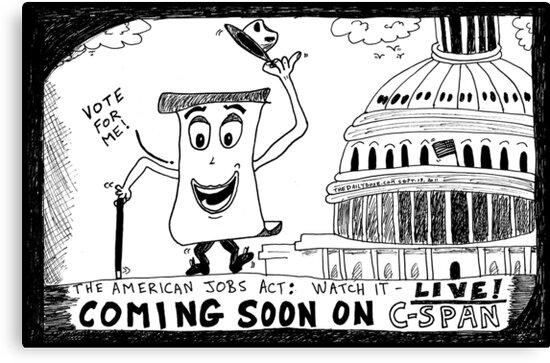 American Jobs Act - Watch it LIVE on CSPAN by bubbleicious