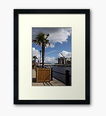 Palm Tree on the Tyne Framed Print