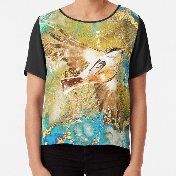Paradiesvogel Chiffon Top