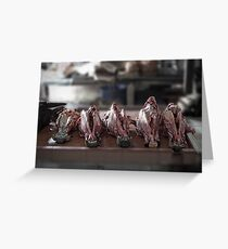 Abattoir Greeting Card
