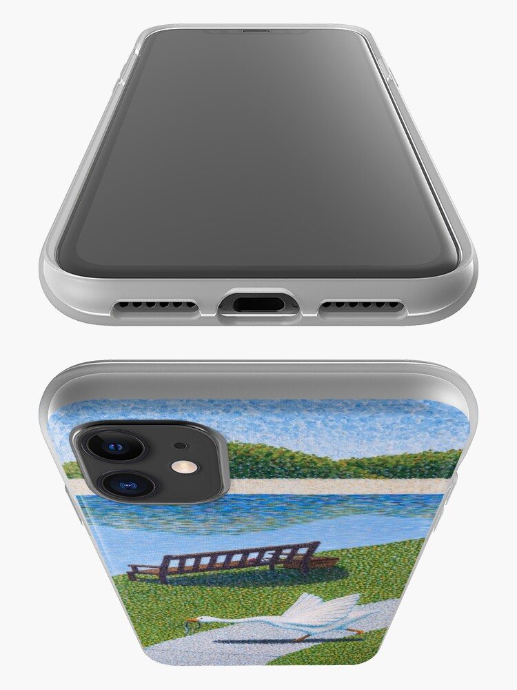 Alternate view of Une Oie iPhone Case & Cover