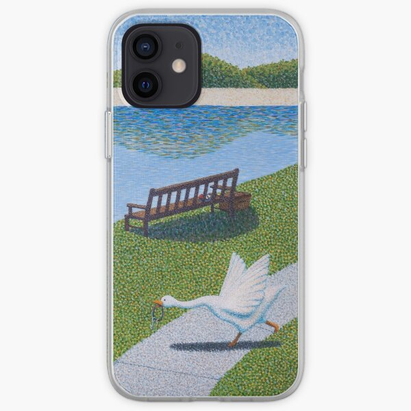 Une Oie iPhone Soft Case