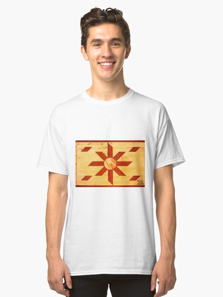 Religous Coffee Table Landscape Classic T-Shirt Front