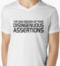 Disingenuous Assertions Men's V-Neck T-Shirt