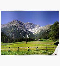 Rural Austrian Tyrol Poster