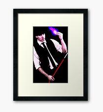 Gambit Style Portrait Framed Print
