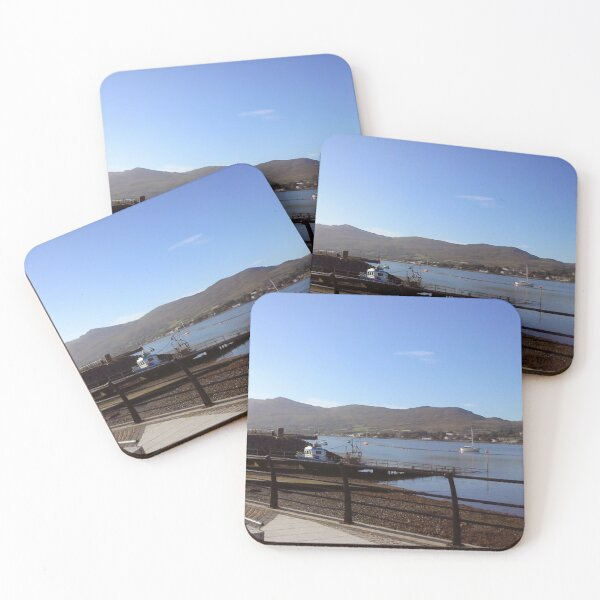 Warrenpoint, Co Down, Northern Ireland Coasters (Set of 4)