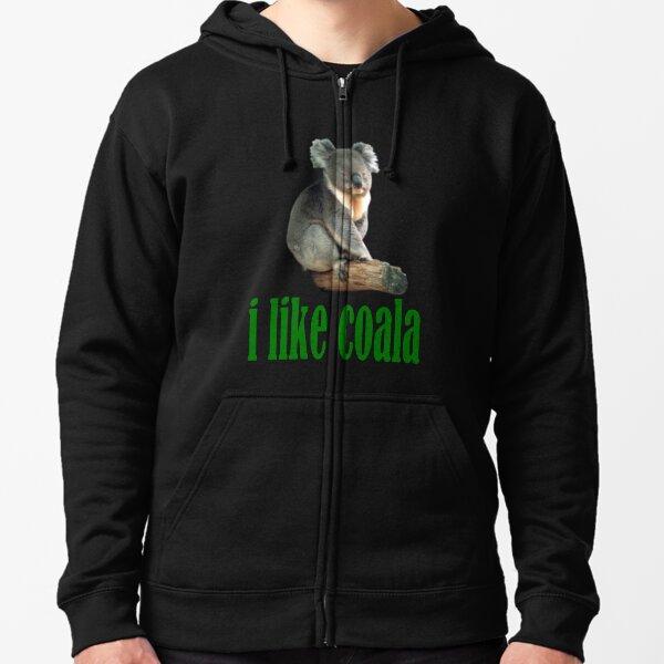 Coala Sudadera con capucha y cremallera