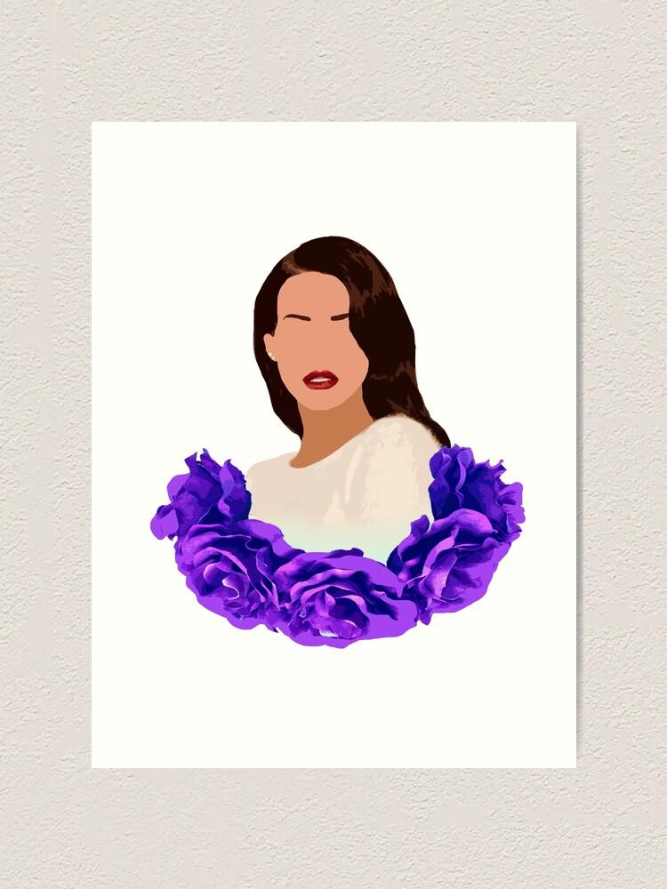 Copia De Lana Del Rey Art Print By Magentamae Redbubble