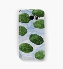 Impression Lilly Pads Samsung Galaxy Case/Skin