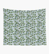 Impression Lilly Pads Wall Tapestry