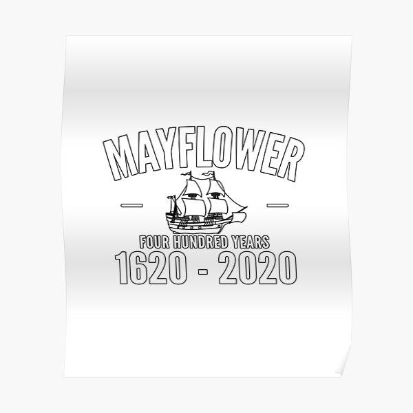Mayflower 400 year Anniversary Poster
