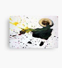 Ink splash Canvas Print