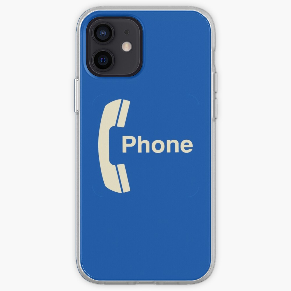 Vintage Pay Phone Sign iPhone Case & Cover