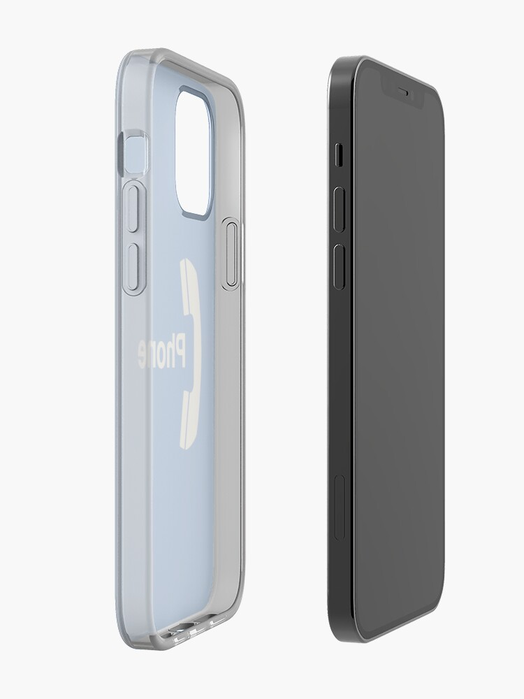 Alternate view of Vintage Pay Phone Sign iPhone Case & Cover