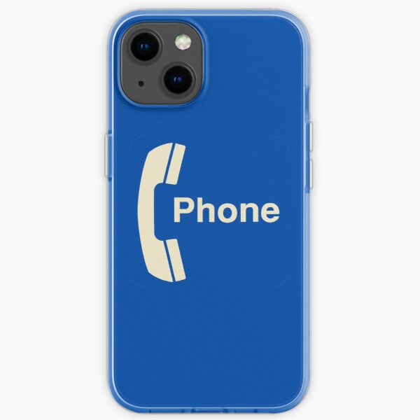 Vintage Pay Phone Sign iPhone Soft Case