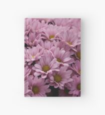 Pink Flowers Hardcover Journal