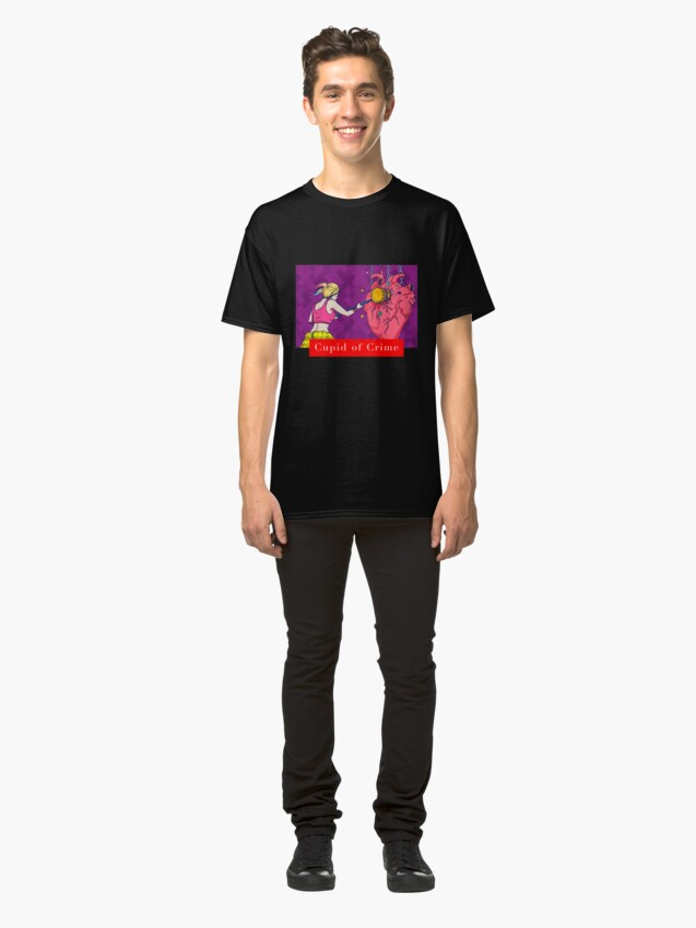 Alternate view of Cupid of Crime Gift Classic T-Shirt