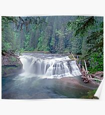 Lower Lewis Falls Poster