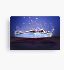 Those Subtle Emanations Of Perfume Canvas Print