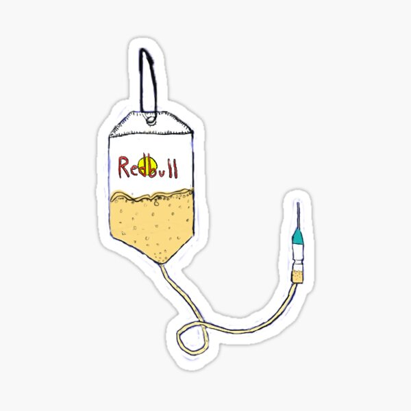 redbull IV bag Sticker