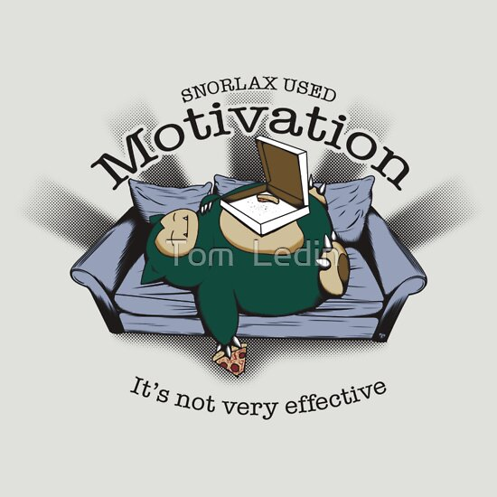 TShirtGifter presents: Snorlax Used Motivation...