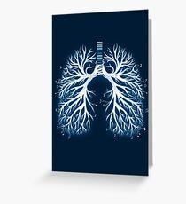 I Breathe Music Greeting Card