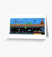 The Great Sprite Battle Greeting Card