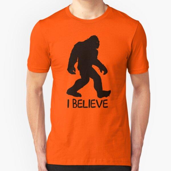 I Believe (Larger) Slim Fit T-Shirt