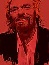 Branson in Red by Nigel Silcock