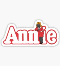 Little Orphan Annie Skywalker Sticker